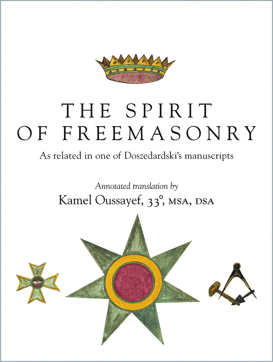 Book: Spirit of Freemasonry
